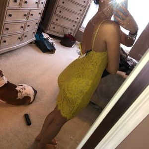 ‼️FINAL OFFER‼️ Akira lace body con dress!